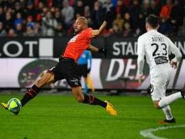 Rennes fait du surplace contre Brest. AFP