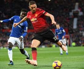 Matic is happy with the team ethic. AFP