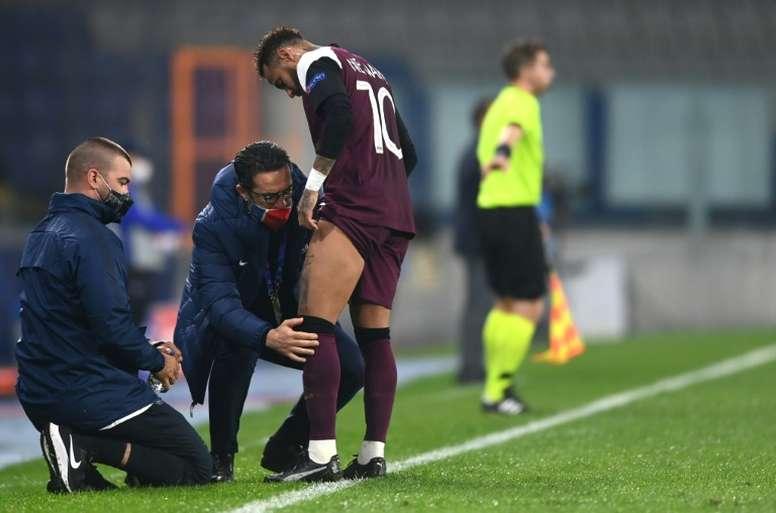 Neymar absent jusqu'à la trêve. goal