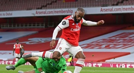 Lacazette può restare all'Arsenal. AFP