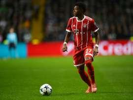 Alaba se mostrou disposto a seguir trabalhando na Alemanha. AFP