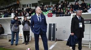 Jean-Michel Aulas lourdement sanctionné par la LFP. AFP