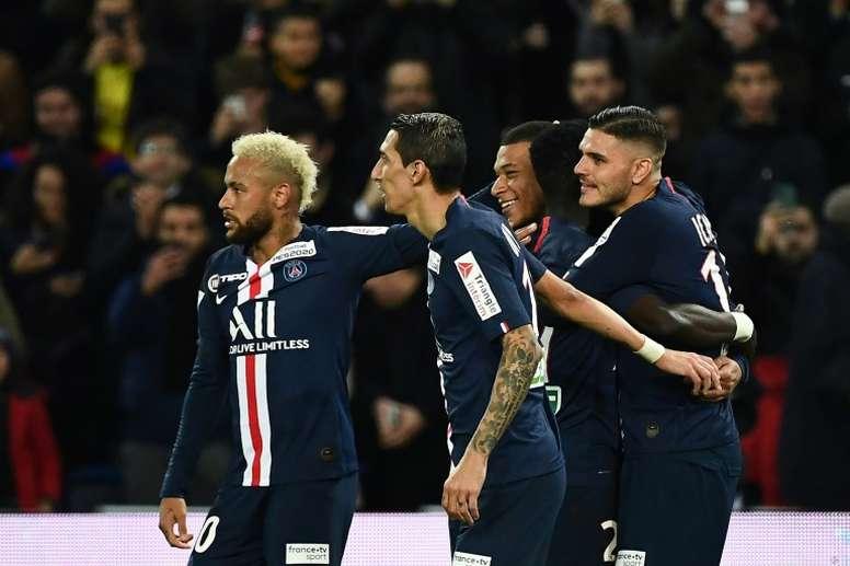 Les clubs de Ligue 1 trouvent un accord pour la baisse des salaires. AFP