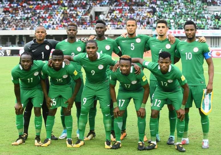Pin A Nigéria já se qualificou para o Campeonato do Mundo. AFP 8760a1f675b95