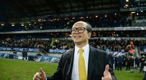 Le propriétaire du FC Sochaux le Chinois Li Wing-Sang. AFP