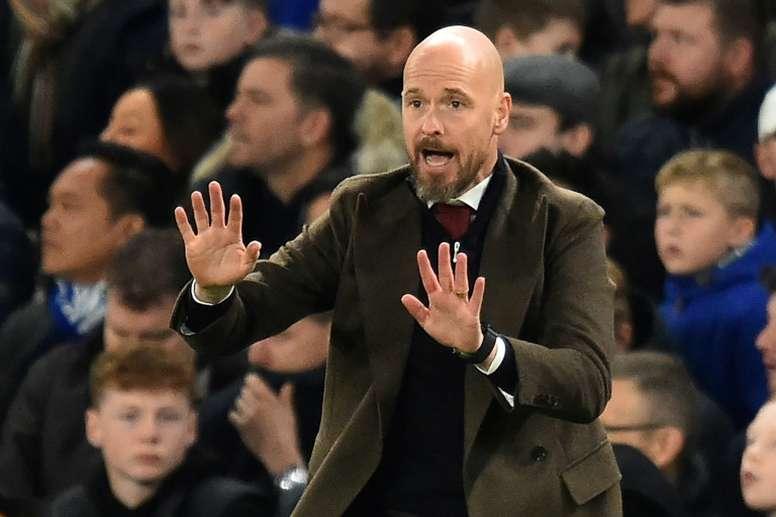 our Erik ten Hag, la Ligue des champions comme tremplin ? AFP