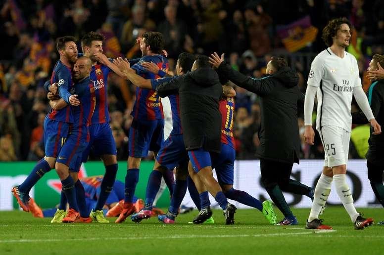 ¿Jugará Rabiot en el Barça?. AFP