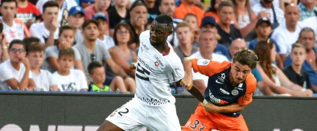 Chotard signe son premier contrat professionnel à Montpellier. AFP