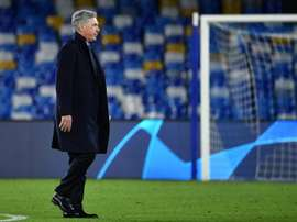 Ancelotti évoque son départ de Naples. AFP