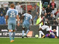 Les Monégasques ont souffert devant l'OGC Nice. AFP