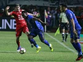 Essien se ha desvinculado del Persib Bandung. AFP
