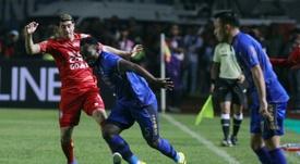 Michael Essien es uno de los jugadores que ha decidido apostar por Indonesia. EFE/AFP