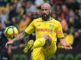 Pallois prolonge jusqu'en 2022 à Nantes. AFP