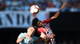 Thomas habló tras la derrota en Vigo. AFP