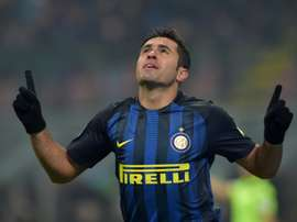 Eder propelled Inter to a 2-0 win over Bayern in the ICC. AFP