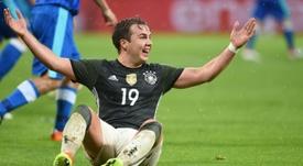 Götze se quedó fuera de la lista de Löw para el Mundial de Rusia. AFP