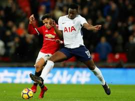 Wanyama has no intention of leaving Spurs. AFP