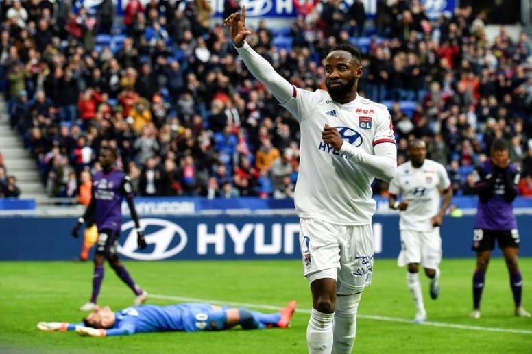 Moussa Dembélé, dans le viseur de Man. United. AFP