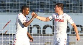 Monaco s'accroche et obtient le nul 1-1 à Francfort en amical. AFP