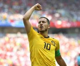 Hazard marcou na vitória na Bélgica. Goal