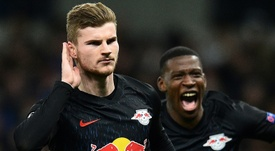 Werner would lose prominence at Liverpool, warns Nagelsmann . AFP