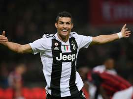 Ronaldo left the San Siro a winner. AFP