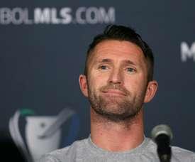 El delantero irlandés abandonó Los Angeles Galaxy en noviembre. AFP