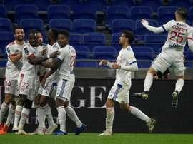 Les compos officielles du match de Ligue 1 entre Lyon et Reims. afp