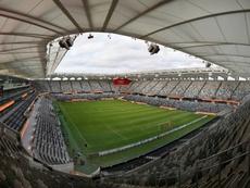 Le Bankwest Stadium à Sydney (Australie) le 21 mars 2020. AFP