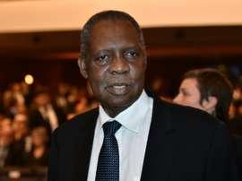 Le président de la CAF Issa Hayatou, le 11 janvier 2016 à Zurich