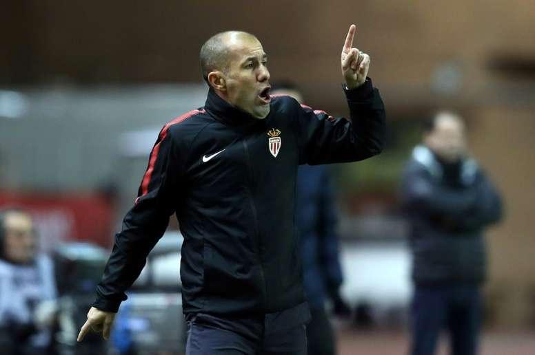 El Mónaco de Jardim cayó en Montpellier. AFP