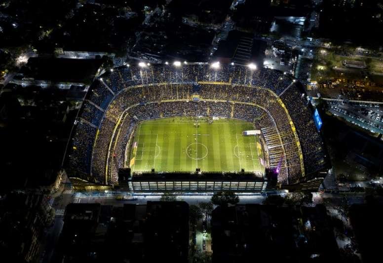 Argentina FA declares its football season over. AFP