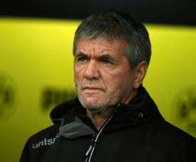 Düsseldorf limoge son entraîneur. AFP