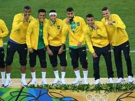 El conjunto brasileño consigue el oro tras vencer a Alemania. AFP