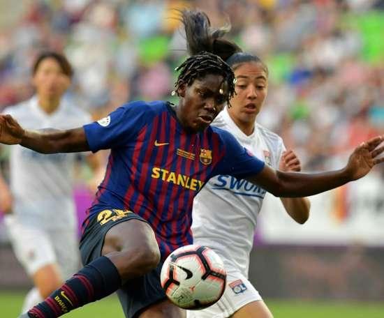 Asisat Oshoala, meilleure joueuse africaine de l'année. AFP