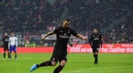 Coupe d'Italie: l'AC Milan peut sauver sa saison. AFP