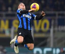 L'Inter cherche déjà un remplaçant pour Lautaro. AFP