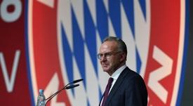 Rummenigge respaldó la decisión de la FIFA sobre el Mundial de Clubes. AFP