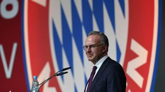 La saison ira à son terme selon Karl-Heinz Rummenigge. AFP