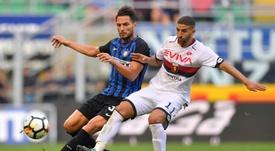 Adel Taarabt (d) volvió al Benfica el pasado verano. AFP/Archivo