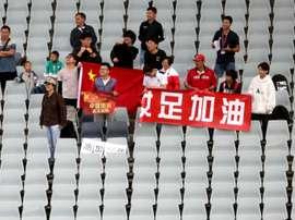 Après des semaines à l'étranger, les clubs chinois rentrent. AFP