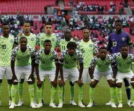 Nigeria cayó ante la República Checa. AFP