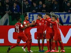 Le Bayern toujours intouchable passe en demi-finale. AFP