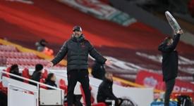 Liverpool ne pourra bientôt plus aligner 11 joueurs valides, peste Klopp. AFP