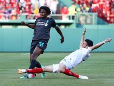 Nouvelle défaite pour Liverpool contre le Séville FC. AFP
