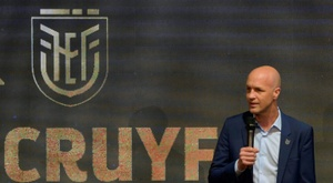 Jordi Cruyff rebondit en Chine comme entraîneur de Shenzhen. AFP