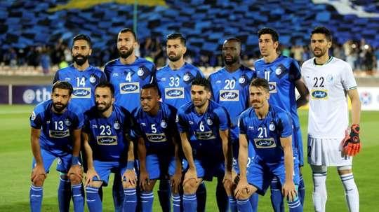 Le club iranien d'Esteghlal frappé de plein fouet par le virus. afp