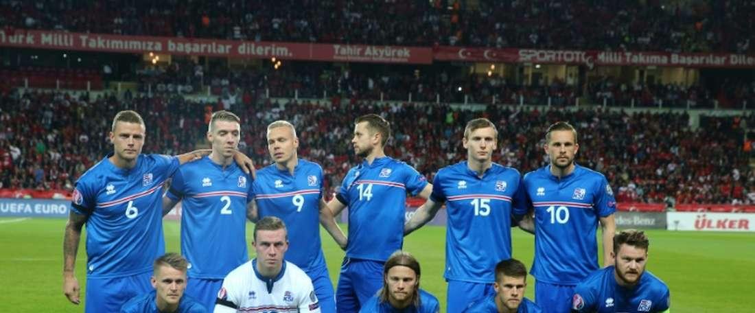 Islandia vive un hito histórico. AFP