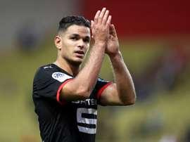 Hatem Ben Arfa, à l'issue du match de L1 face à Monaco. AFP