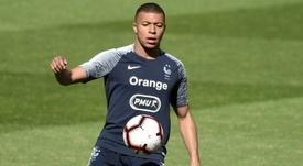 Zamoreno recomienda al Madrid que fiche a Mbappé. AFP
